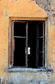 Oud venster zonder windows.