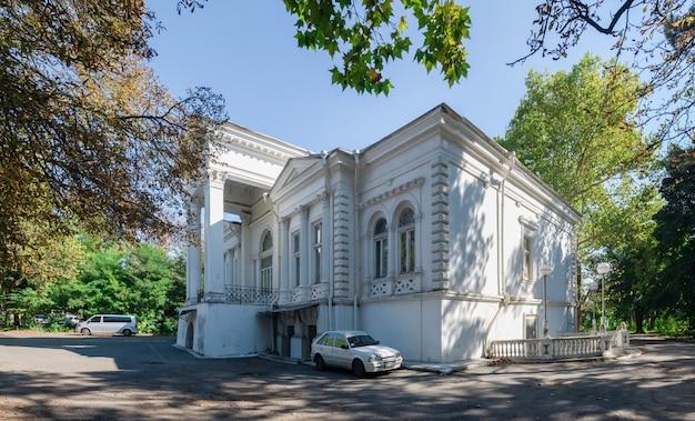 Oud verlaten sanatorium