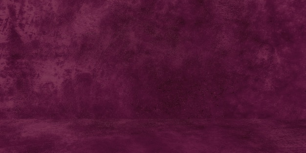 Oude armoedige betonnen muur textuur met gebarsten paarse betonnen studio muur abstracte grunge achtergrond...