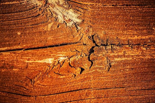 Oude armoedige houten bruine achtergrond. hout textuur