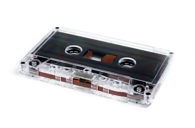 Oude audiocassette