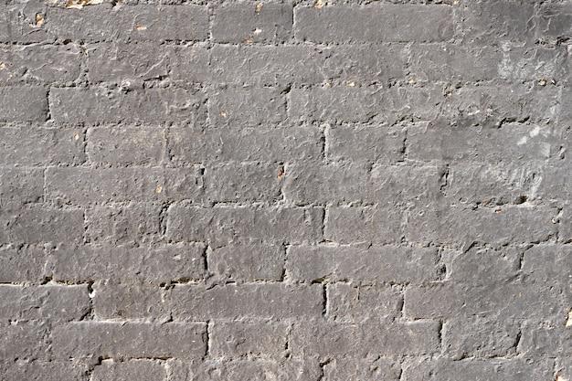 Oude bakstenen muur grunge achtergrondtextuur