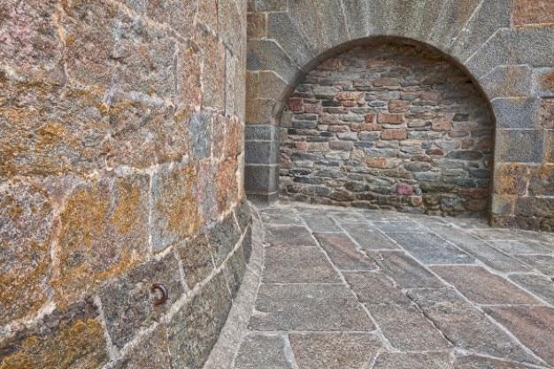 Oude bakstenen muur hdr