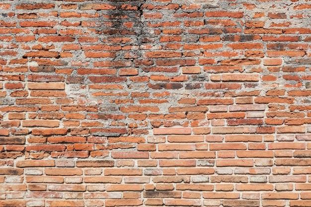 Oude bakstenen muur textuur achtergrond.