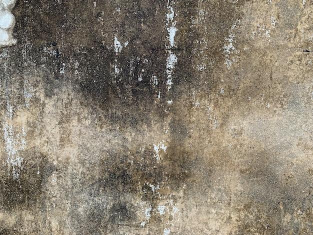 Oude betonnen muur.