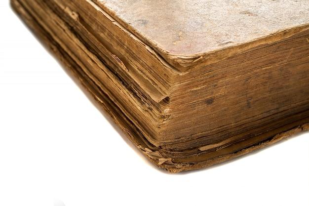 Oude boeken in een grungestijl