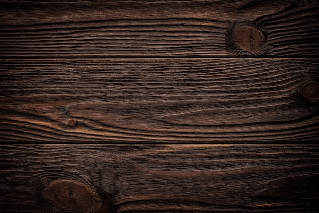 Oude bruine houten muur, gedetailleerde textuur als achtergrond. houten plank hek close-up.