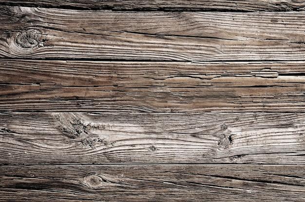 Oude bruine houten textuurachtergrond