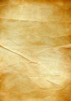 Oude bruine verfrommelde document textuurachtergrond