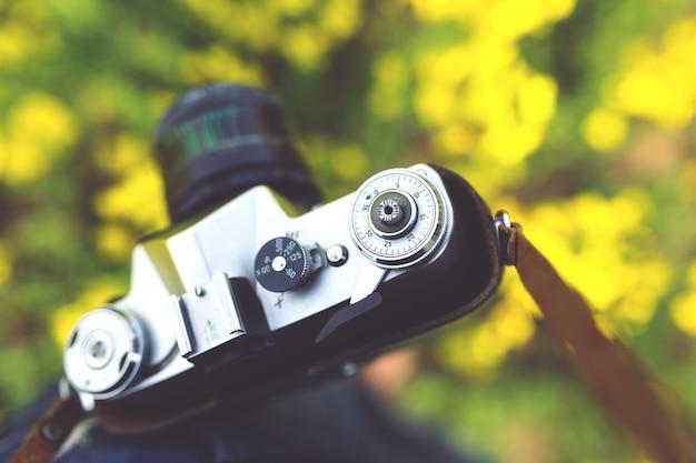 Oude camera in de buurt