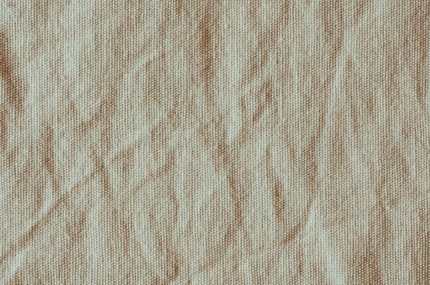 Oude canvas verfrommelde textuurachtergrond