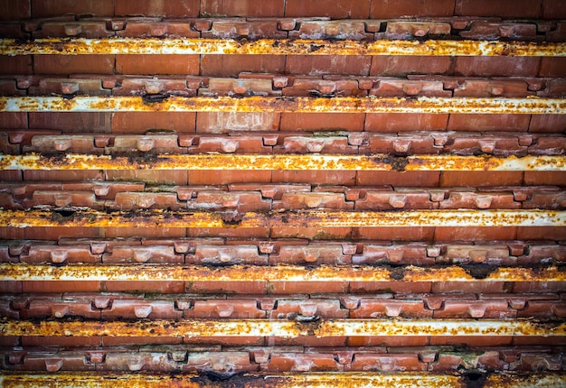 Oude dakstructuur