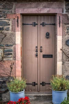 Oude deur schotland