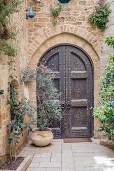 Oude deur van tel aviv