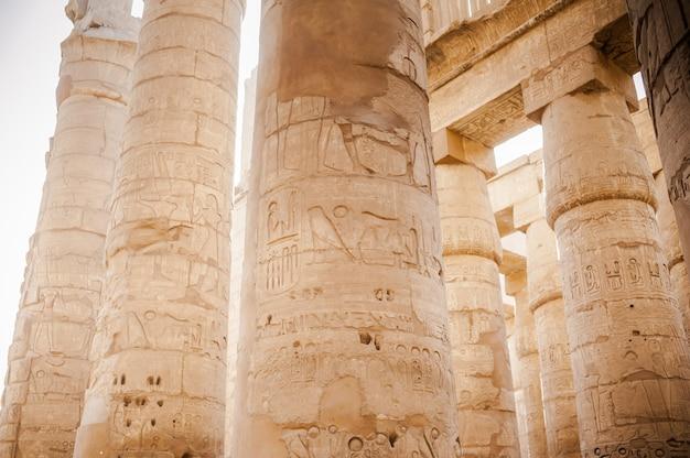 Oude egyptische architectuur van de farao's