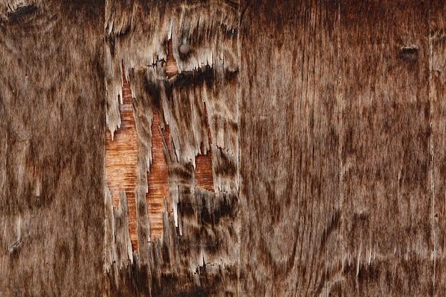 Oude en versleten houtsnippers