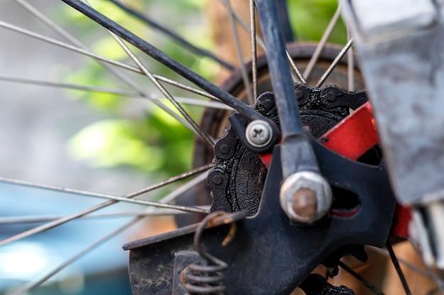 Oude fietsketting