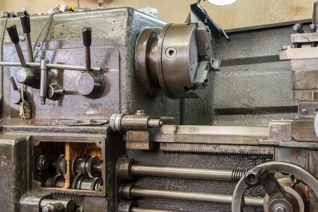Oude freesmachine