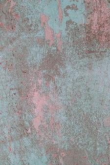 Oude gebarsten blauwe concrete achtergrond