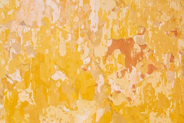 Oude gebarsten pleistermuur, textuur