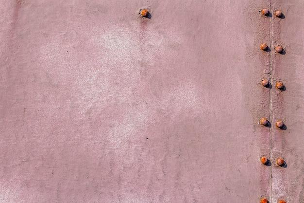 Oude gebarsten roestig metaal geschilderde achtergrond