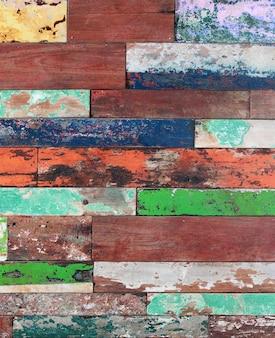 Oude geschilderde houtstructuur