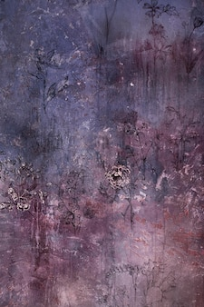 Oude grungy bloemenachtergrondtextuur