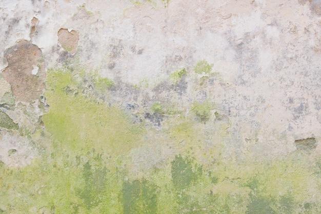 Oude grungy muur met beschadigde gips abstracte horizontale textuur als achtergrond