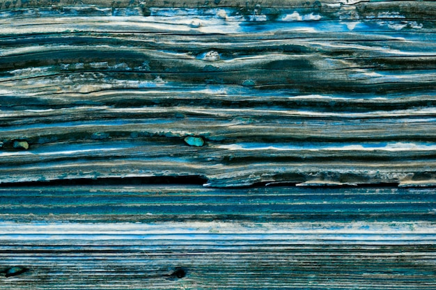 Oude houten blauwe deur grunge textuur