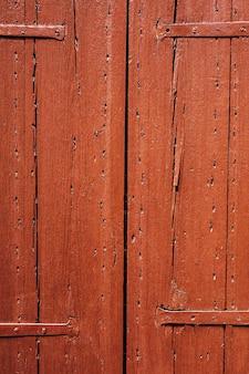 Oude houten deuren