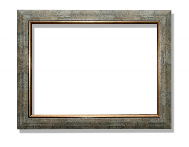 Oude houten frame