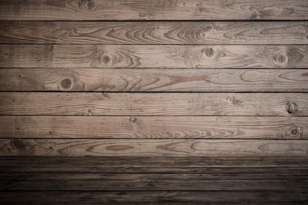 Oude houten gestreepte grungeachtergrond