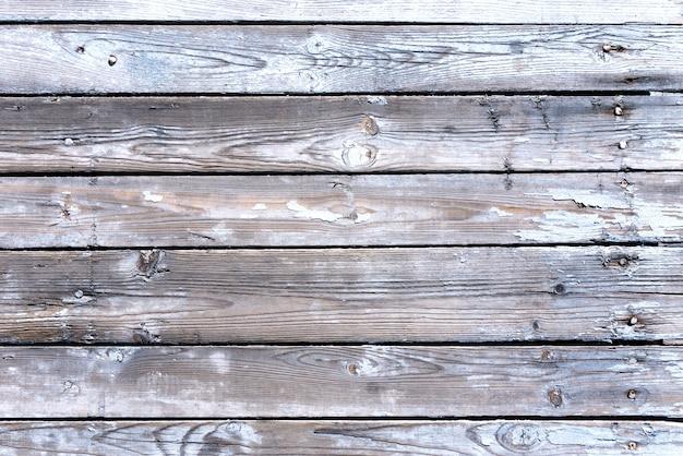 Oude houten geweven plankenachtergrond