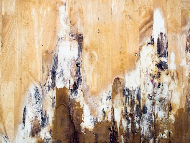 Oude houten muurraad