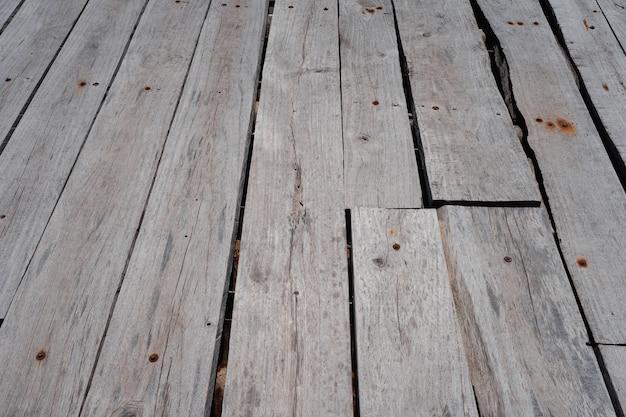 Oude houten plank board vloeren textuur perspectief achtergrond