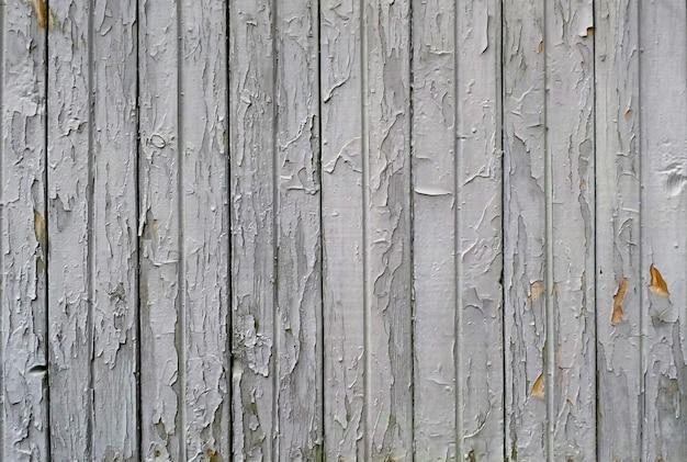 Oude houten plankentextuur. gebarsten verf achtergrond.