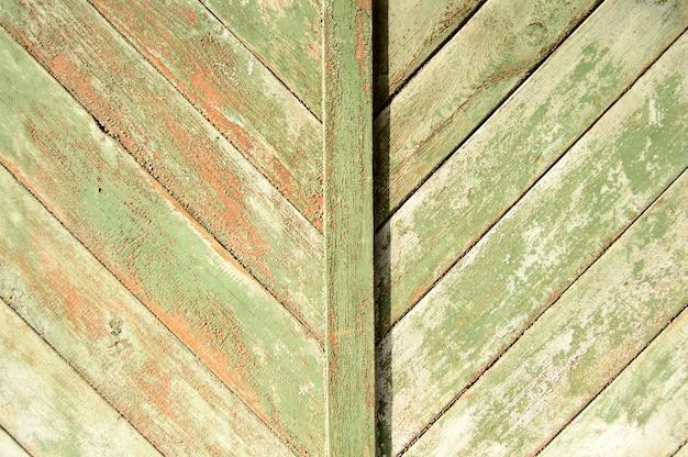 Oude houten roestige deurachtergrond