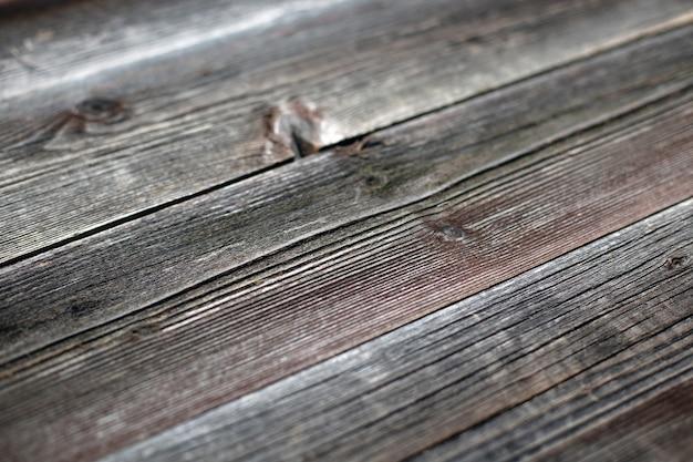 Oude houten rustieke bruine achtergrond. diagonaal perspectief