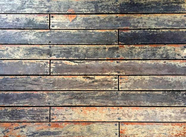 Oude houten tegel muurachtergrond