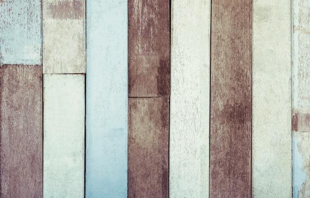Oude houten textuur met grunge voor abstracte achtergrond. pastel of vintage kleur gefilterd.