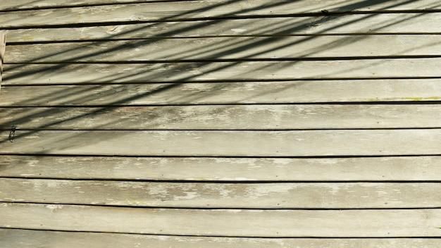 Oude houten textuur retro muur als achtergrond