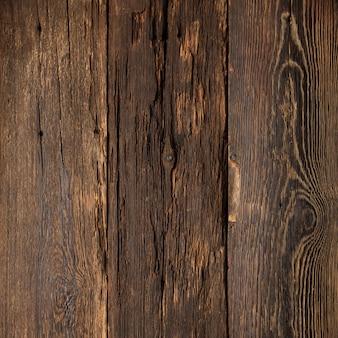Oude houtstructuur leeg donker