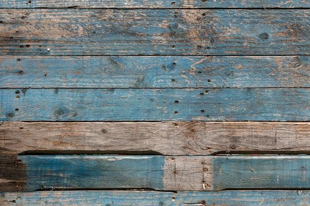 Oude houtstructuur van pallets voor achtergrond