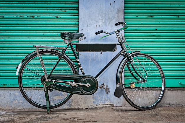 Oude indiase fiets