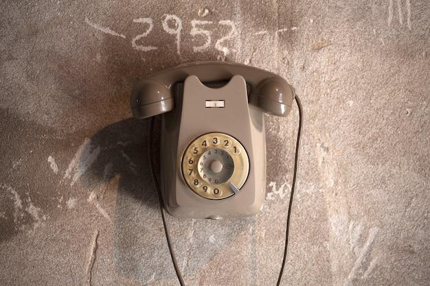 Oude italiaanse telefoon