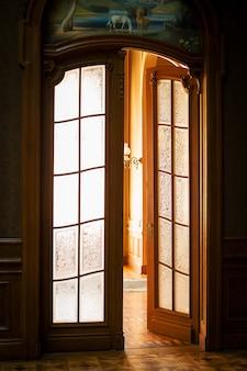 Oude kamers in het huis wetenschappers. house of scientists in lviv.