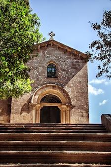 Oude kapel santa susana, santiago de compostela, spanje