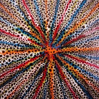 Oude kleurrijke met de hand gemaakte turkse tegels voor achtergrond