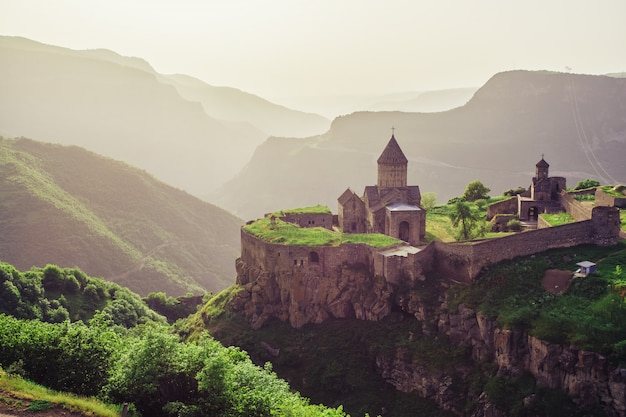 Oude klooster. tatev. armenië