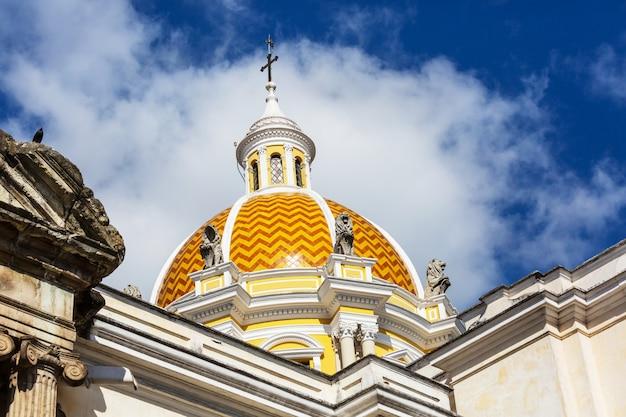 Oude koloniale architectuur in guatemala